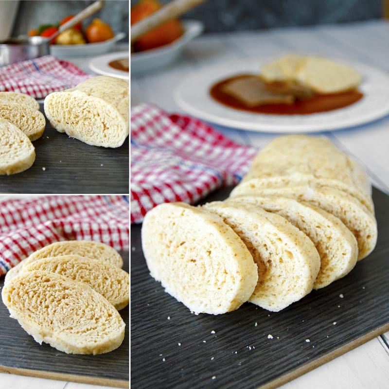 Domácí kynutý houskový knedlík - recept Bajola