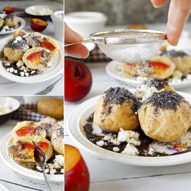 Fit tvarohovo bramborové knedlíky - recept Bajola