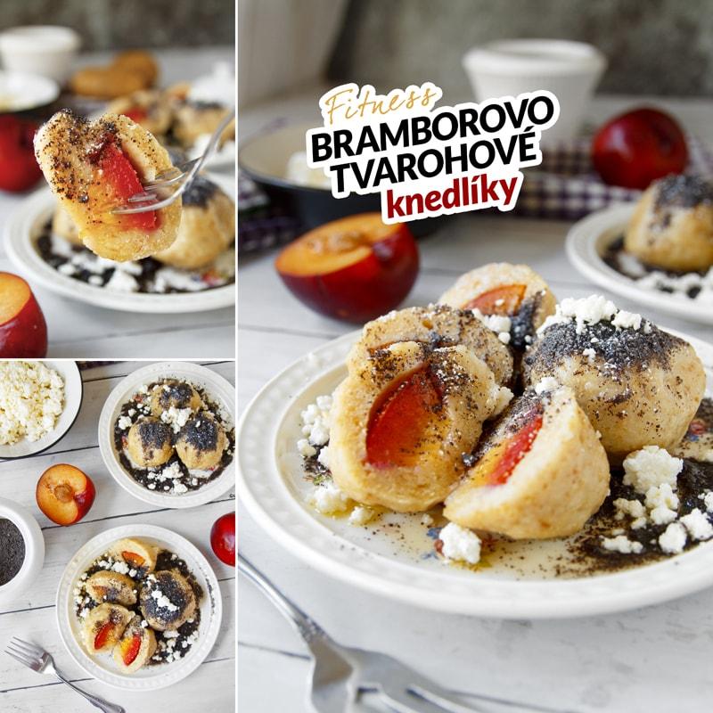 Fitness bramborovo tvarohové knedlíky - recept Bajola