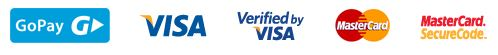 Gopay, Visa, Verified by Visa, Mastercard, Mastercard SecureCode