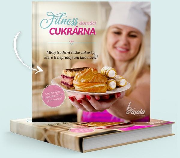 E-book Fitness domácí cukrárna - Bajola