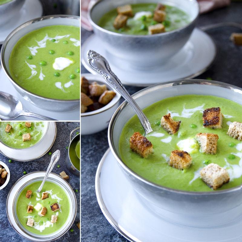 Fit hrášková polévka - recept Bajola