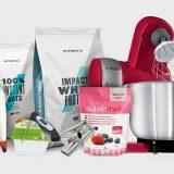 Fitness suroviny a kuchyňské potřeby