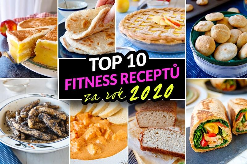 Top 10 nejlepších fit zdravých receptů za rok 2020