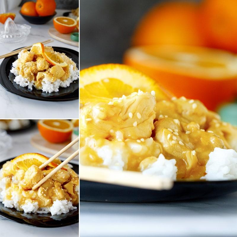 Zdravé orange chicken - recept Bajola