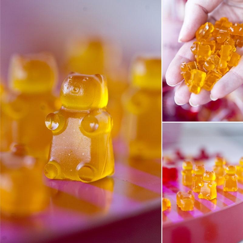 Fit gumoví medvídci domácí recept Bajola