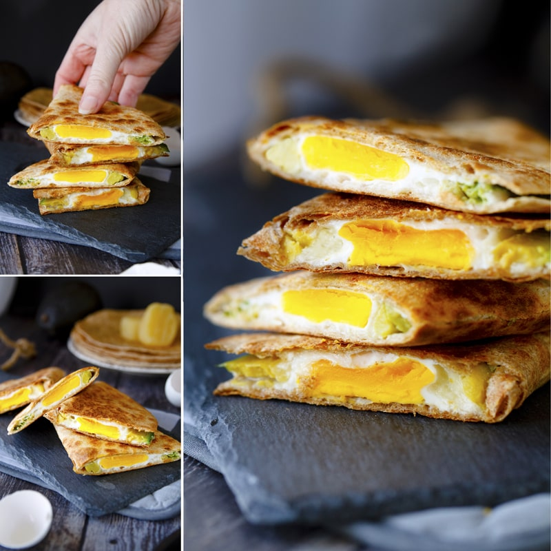 Zdravá plněná tortilla - recept Bajola