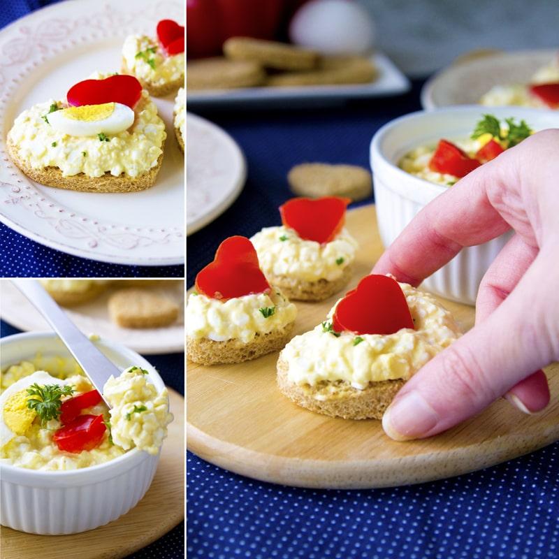 Zdravá vajíčková pomazánka recept Bajola