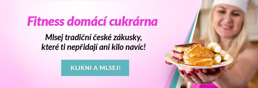 Fitness domácí cukrárna - Mlsej tradiční české zákusky, které ti nepřidají ani kilo navíc! Klikni a mlsej