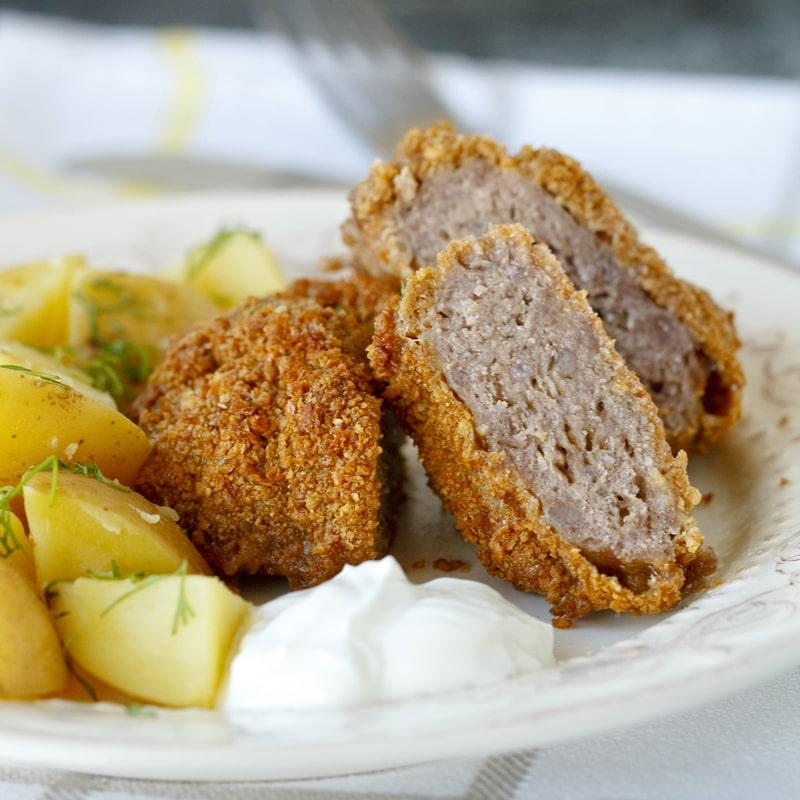 Fit holandský řízek v troubě - recept Bajola