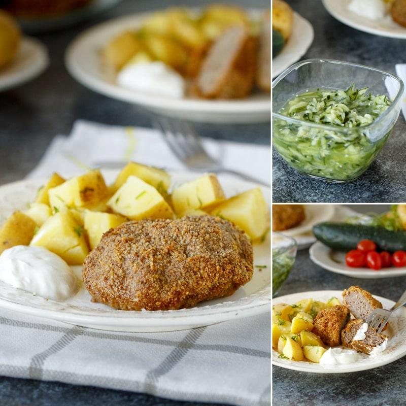 Holandský řízek z hovězího masa - recept Bajola