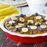 Fitness banánový koláč - recept Bajola